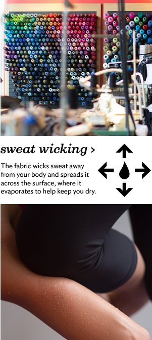 sweat wicking