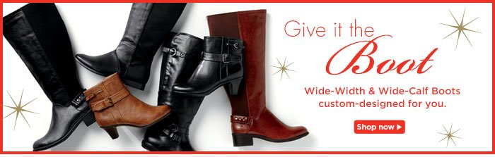 Boots custom-designed for you! Shop Now