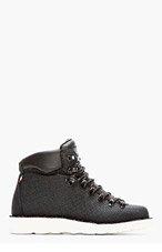 DIEMME Black Textured Kevlar Roccia Vet Boots for men