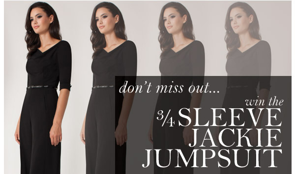 Enter to Win the Jackie Jumpsuit