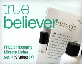 Special Offer from philosophy