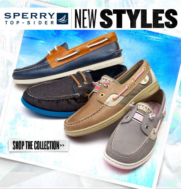 New Sperry Top-Sider Styles