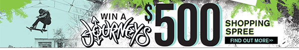 Win a $500 Shopping Spree at Journeys!