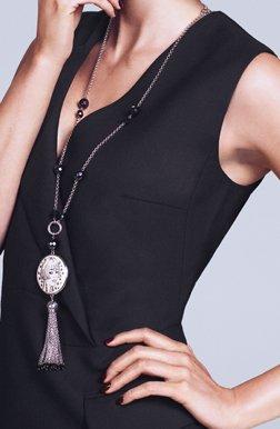 Nanette tassel necklace