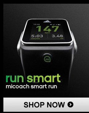 Shop micoach Smart Run Watch »