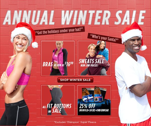 SHOP Annual Winter Sale!