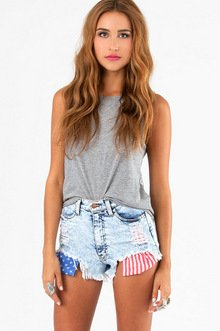 VEGA HIGH WAISTED SHORTS 49