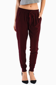 INFATUATED DRAWSTRING PANTS 32