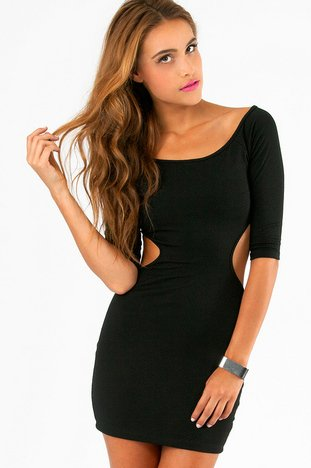 STOLEN MOMENTS BODYCON DRESS 26