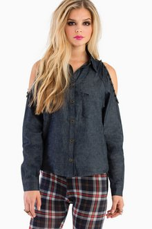 ROUGH AND RUMBLE DENIM SHIRT 44