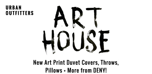 Art House New art print duvet covers, throws, pillows + more from DENY!