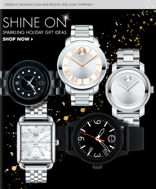 SHINE ON - SPARKLING HOLIDAY GIFT IDEAS - SHOP NOW