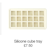 Silicone cube tray