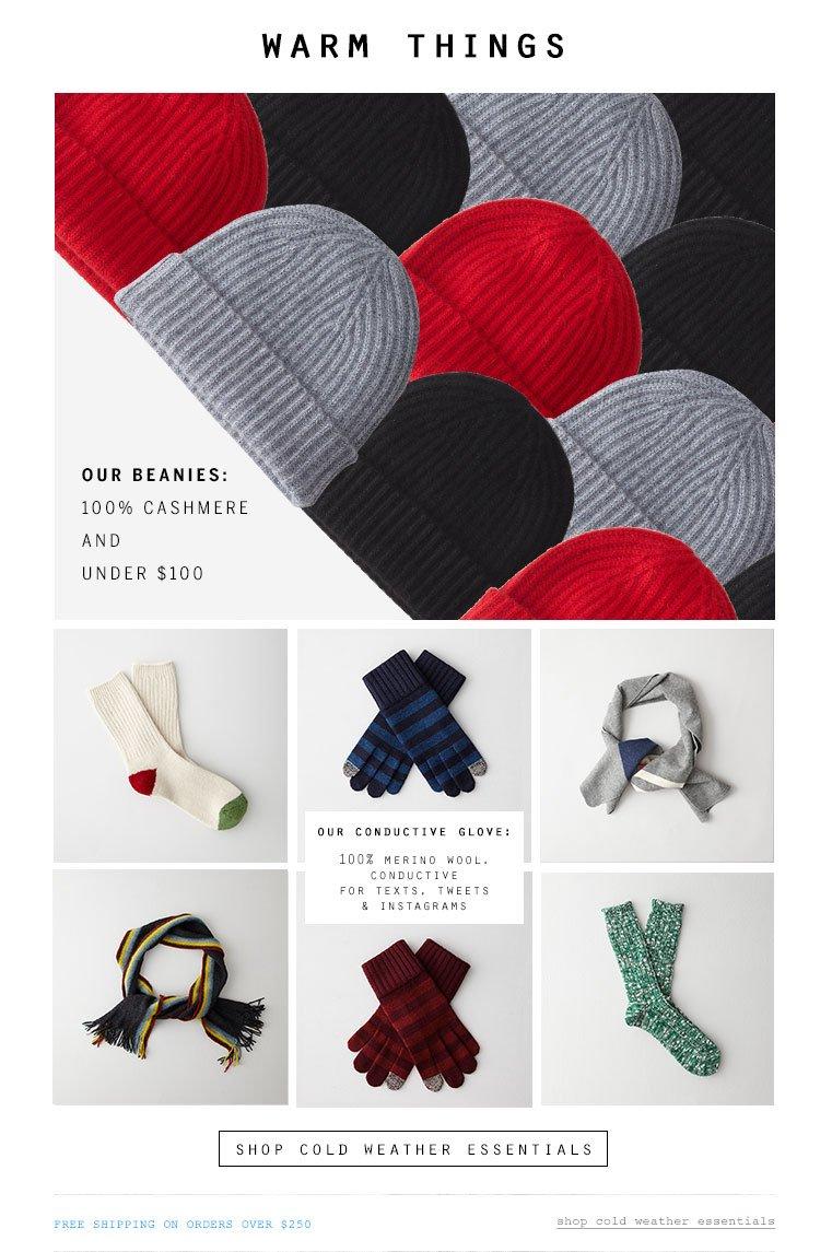 Shop Mens Winter Accessories