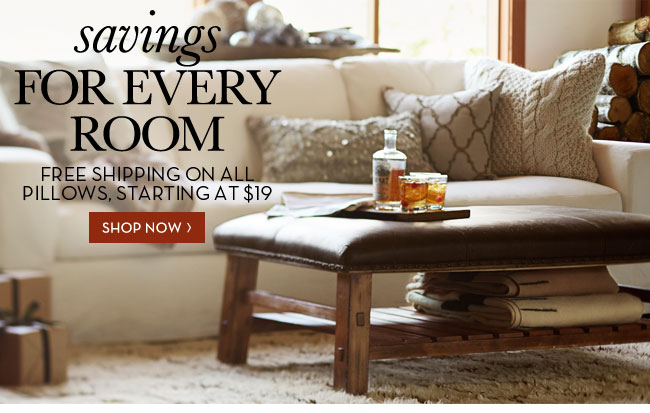savings FOR EVERY ROOM