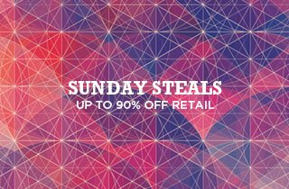 Sunday Steals: Up to 90% Retail