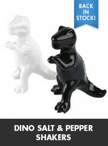Dino Salt & Pepper Shakers
