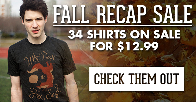 Fall Recap Sale - Click Here