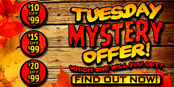Sportsman's Guide's Tuesday Mystery Discount Offer.