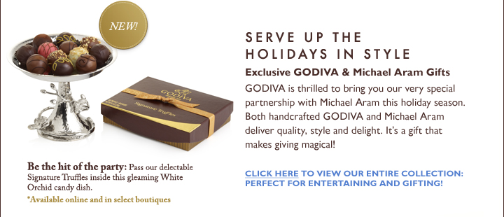 SERVE UP THE HOLIDAYS IN STYLE