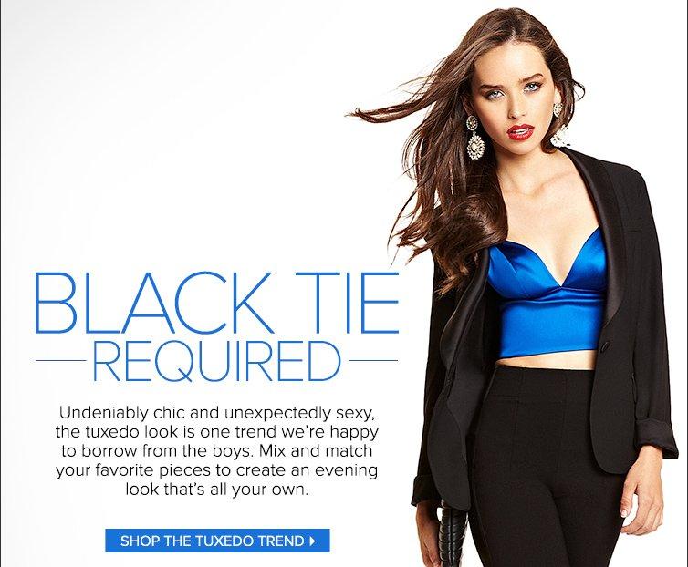 Shop the Tuxedo Trend