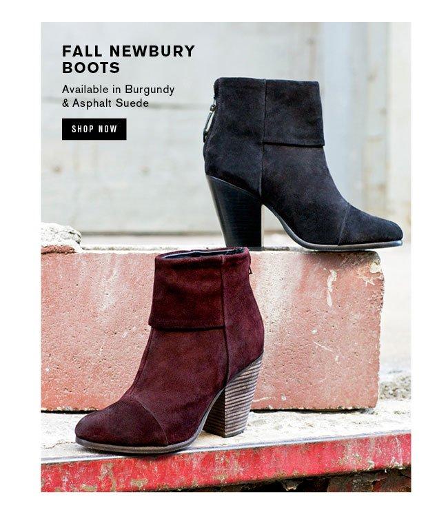 Fall Newbury Boots
