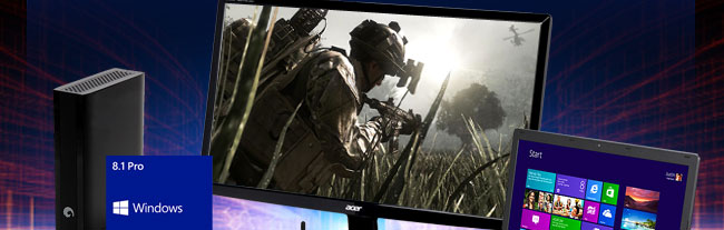 HDD, Win8, LCD