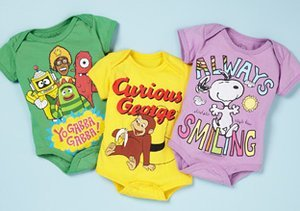Character Bodysuits for Baby