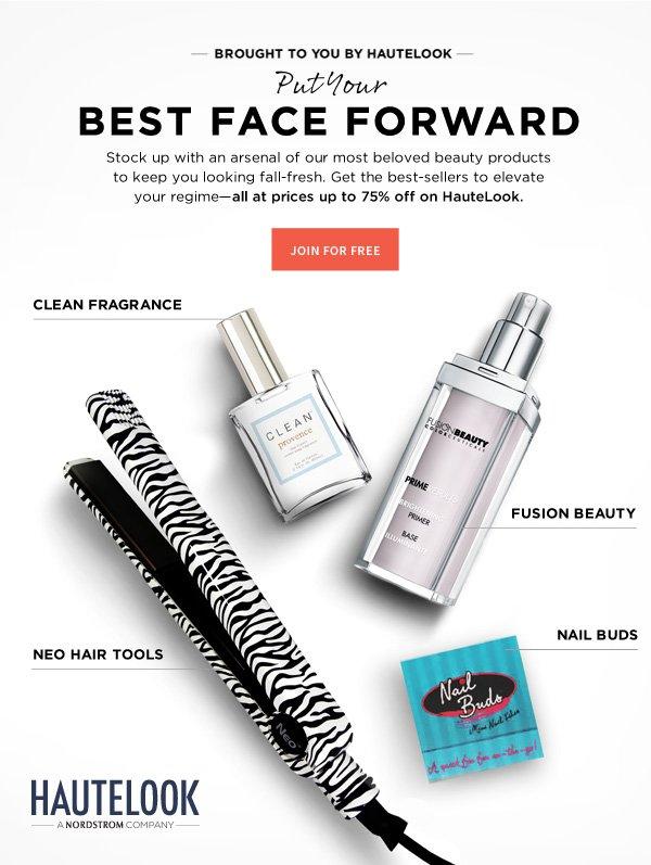 Put Your Best Face Forward | Shop Now
