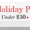Holiday Shop Preview: Under $30