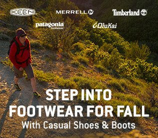 Casual Shoes & Boots for Fall