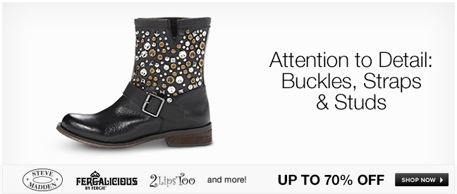 Attention to Detail: Buckles, Straps and Studs