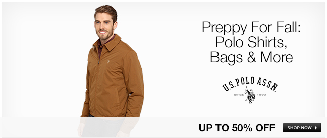 Preppy For Fall: Polo Shirts, Bags and More