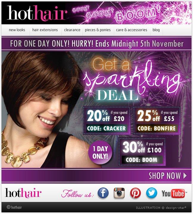 20%  Off Long Wigs