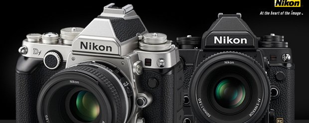 Nikon Df in Black and Silver