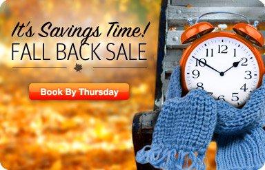 Click 'n Save - Fall Back Fares