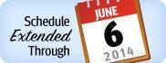 Book Travel Through June 6, 2014