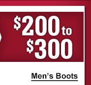 Mens 200 to 300 Boots