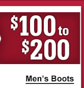 Mens 100 to 200 Boots