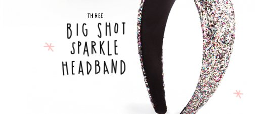 shop ban.do big shot sparkle headband