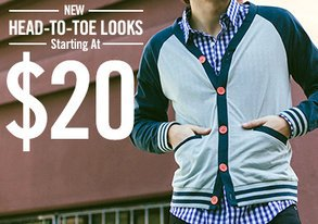 Shop New Head-to-Toe Looks from $20