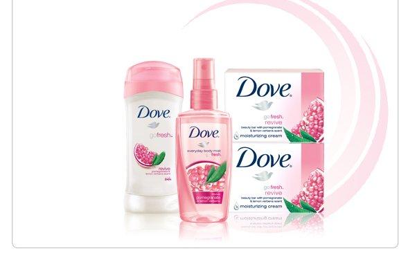 Dove(R) go fresh(R) Revive