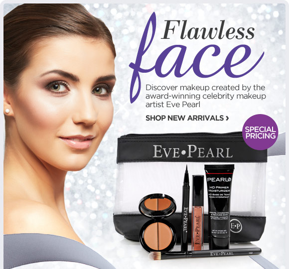 Discover makeup created by the award-winning celebrity makeup  artist Eve Pearl