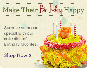 Share Birthday Smiles Make their day truly original with our collection of Birthday favorites.  Shop Now