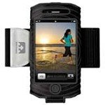 Nathan 4887NBB SonicBoom Arm Band for iPhone 4, Black