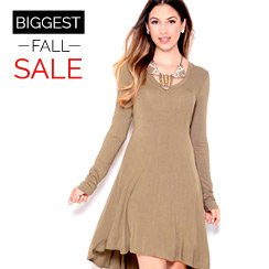 The Biggest Fall Sale: Day Dresses
