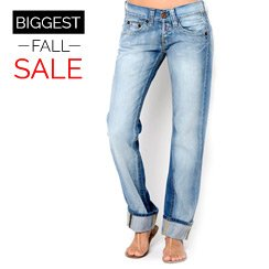 The Biggest Fall Sale: Denim for Her