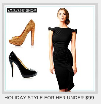 Holiday Style for Her under $99
