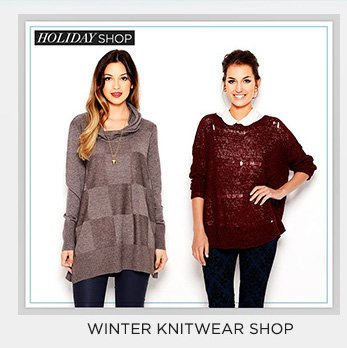 Winter Knitwear Shop
