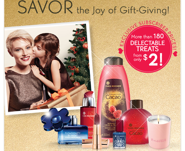 SAVOR the Joy of Gift-Giving!